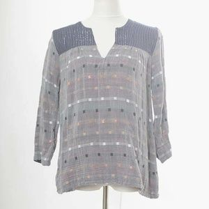 Ace & Jig Size Small Admiral Top Harmony Textile